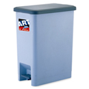 新海洋 419 長方膠腳踏垃圾桶 22L