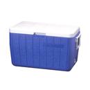Coleman 48QT Polylite 塑料冰箱 - 藍色