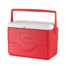 Coleman 28QT Poly. 塑料冰箱 - 紅色
