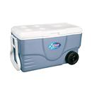 Coleman 62QT Xtreme® 5 塑料有轆冰箱 - 銀藍色
