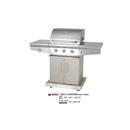 #910383 櫃式三頭石油氣燒烤爐