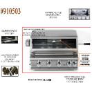 #910503 嵌入式4頭爐連串燒馬達套裝