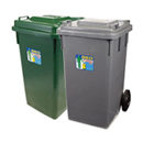 新海洋 GEO100 膠垃圾桶 100L
