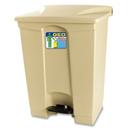 新海洋 GEO70 長方膠腳踏垃圾桶 70L