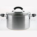 美亞 24cm 不銹鋼有蓋湯煲 (6.2L)