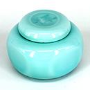 淺翡翠綠茶葉罐