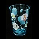 "Peter Rabbit 3.5"" 透明藍色水杯"