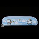 Hello Kitty 藍色餐具袋