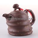 秋蟬紫砂茶壺