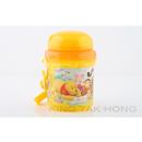 小熊維尼黃色水壼連飲管