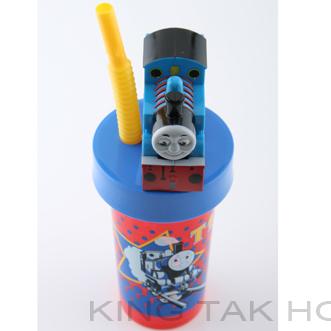 Thomas & Friends 有蓋水杯連飲管