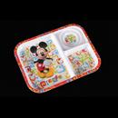 "Mickey Fun-Tastic Friends - 米奇老鼠 10.5"" 3格長方托盤"