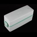 Asvel 600ml 綠色抗菌雙層飯盒
