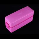 Asvel 600ml 粉紅色抗菌雙層飯盒