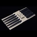 黑色圓形木筷子 (5對裝)