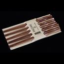 竹麻花木筷子 (5對裝)