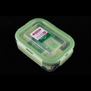 Asvel unix ware 320ml 4Lock 玻璃密封食物盒 - 綠色
