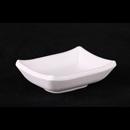"""白色陶面 3.75"""" 長方醬油碟"""