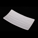 """白色陶面 8.5"""" 長方燒物盤"""