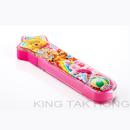 小熊維尼星形透明餐具盒連匙,筷子(粉紅,粉藍)