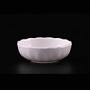"""白科學瓷3.5""""波浪紋醬油碟"""