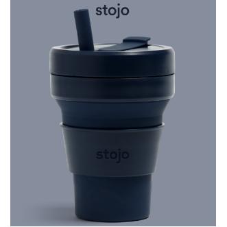 Stojo Biggie 環保可摺疊杯 16oz/470ml - 牛仔藍