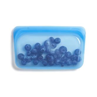 Stasher 矽膠密實袋 Snack - 托帕石藍