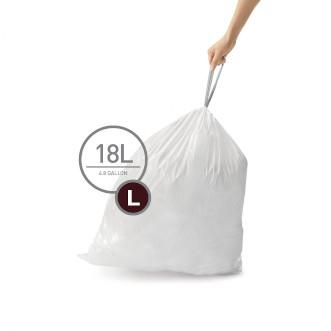 simplehuman 18L 垃圾袋 - L 20個裝