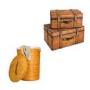 洗衣籃及行李箱